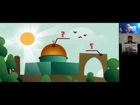 تسجيل البث المباشر لإطلاق شارة المنتمي لفلسطين