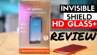 Invisible Shield HD Glass+ Review - Best Screen Protector for iPhone 7 Plus