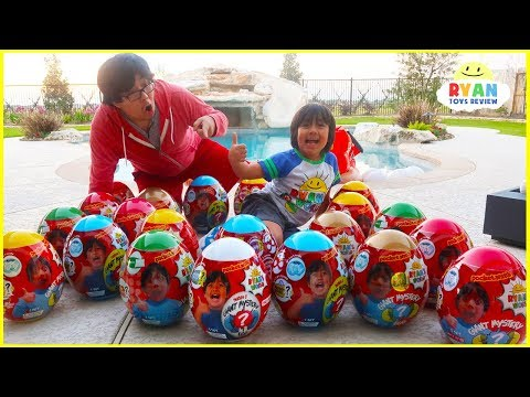 Huge Easter Egg Hunt Surprise Toys for Kids!