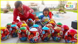 Huge Easter Egg Hunt Surprise Toys for Kids!