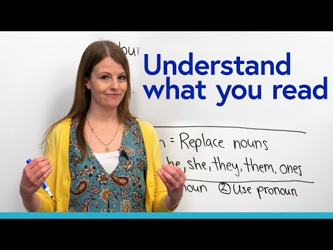 Understand what you read: Emma's pronoun trick!