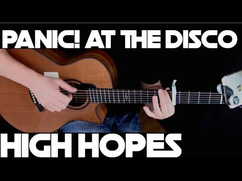 Kelly Valleau - High Hopes (Panic! At The Disco) - Fingerstyle Guitar
