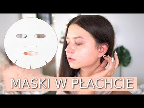Maski na twarz łopian i włosy