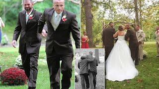 This Bride to Be Was About To Walk Down The Aisle When Her Dad Suddenly Grabbed Her Stepfather
