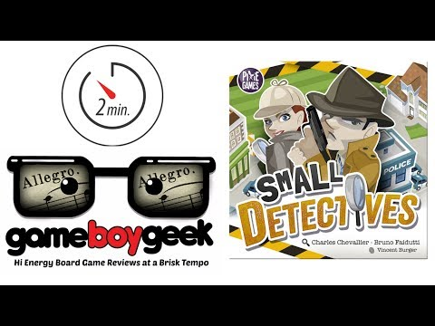 The Game Boy Geek's Allegro (2-min Review) of Small Detectives