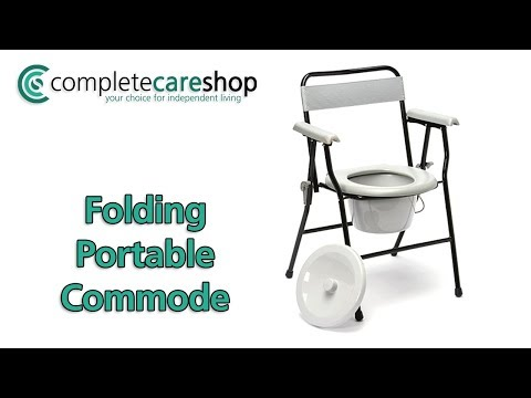 Folding Commode Demo