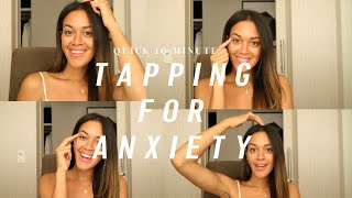EFT Tapping For Anxiety | Tap With Me.