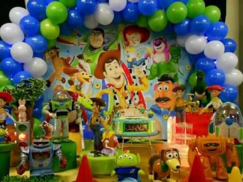 Decoración Globos Toy Story 3 Imagui