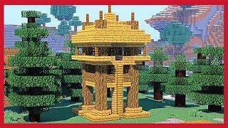 Minecraft: Come Fare Una Torre D'osservazione