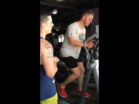 Jogging slimming braso