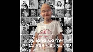 Juliana Carver - Decorating her grave for Christmas (Nov 27 2018)