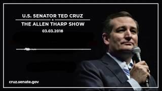 Sen. Cruz on The Allen Tharp Show - March 3, 2018