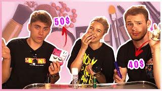 Dečki pogađaju cijenu šminke 🤣⎜SaamoPetraa & TheSikrt & Bruno Lukić