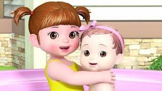 Kongsuni and Friends | Kongsuni Goes for Bath Time Music Video | Songs for Children