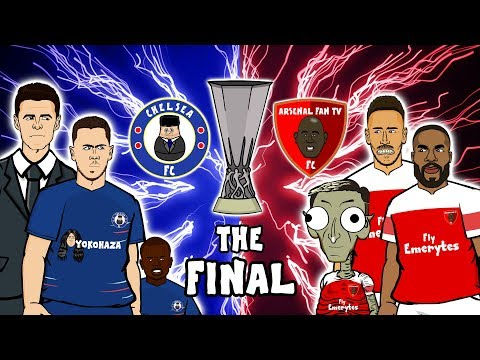 🔵CHELSEA Vs ARSENAL: The Final🔴 (Europa League Final Preview 2019)