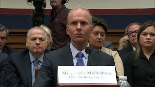 Watch live: Boeing's CEO testifies before House on 737 MAX crashes