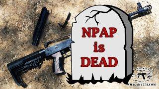 Zastava AK NPAP Rifle  What Went Wrong