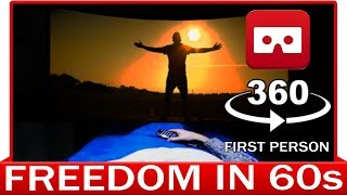 360° VR VIDEO - Freedom in 60 seconds - Alessio Palma - VIRTUAL REALITY 3D