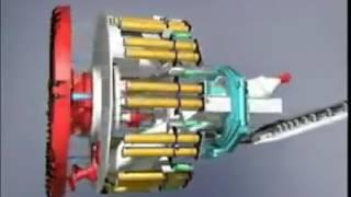 Tünel Açma Makinesi Animasyonu