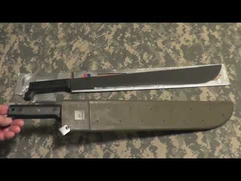Ontario U.S. Machete Review and Field Test