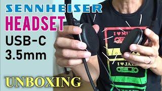 Sennheiser SC165 Headset USB-C & 3.5mm Audio