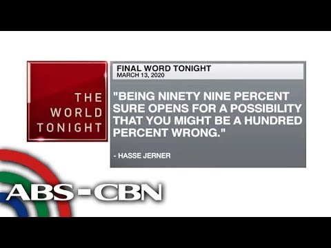 [ABS-CBN]  Final Word – March 13, 2020 | ANC