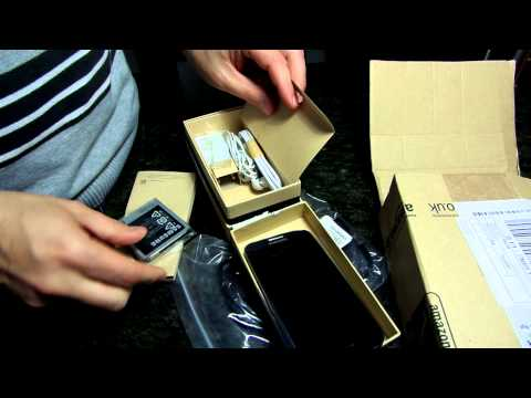 SHOPPING SAMSUNG GALAXY S4 AMAZON UNBOXING