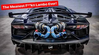 INTRODUCING WORLDS FIRST TWIN TURBO LAMBORGHINI AVENTADOR SVJ!  *2000 WHP by Underground Racing*