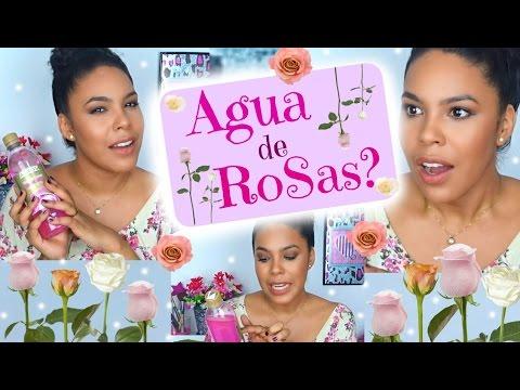 AGUA DE ROSAS - BENEFICIOS