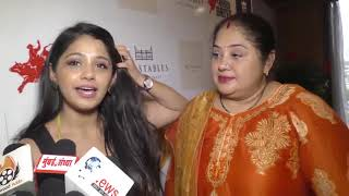Television Celebs with their mothers at Peninsula Grand Hotel