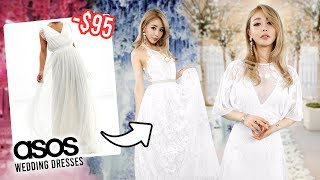 I Tried On CHEAP Wedding Dresses From ASOS