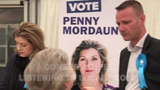 Penny Mordaunt launches General Election campaign in Portsmouth