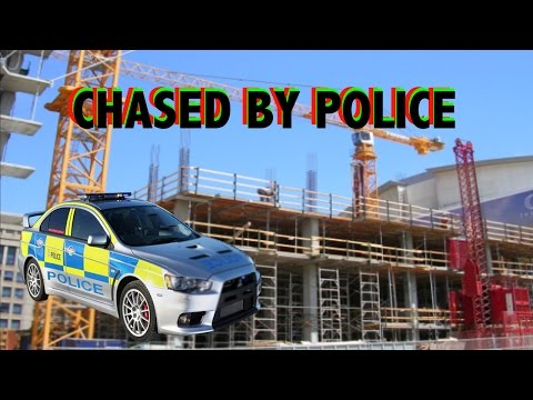 CLIMBING INTO CONSTRUCTION SITE (Chased By Police)