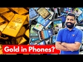 Gold in a Smartphone? Gold Recovery from Electronics!!! E Waste? by Technical Guruji