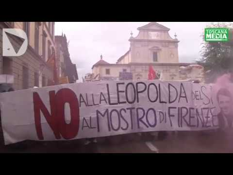 SCONTRI ALLA MANIFESTAZIONE FIRENZE DICE NO - video