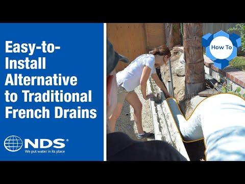EZ Drain french drain installation: the gravel free alternative mp3 yukle - mp3.DINAMIK.az