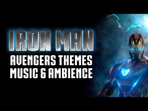 Iron Man Tribute   Avengers Themed Music & Ambience (Part 1/3)