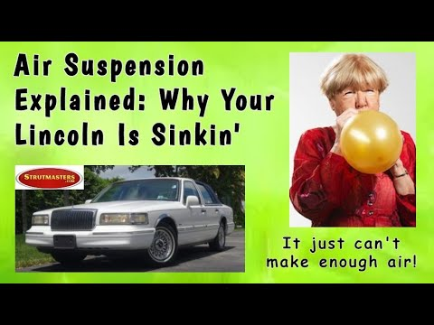 How To Fix Your Lincoln's Rear Air Suspension