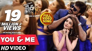 Khaidi No 150 Video Songs | You And Me Full Video Song | Chiranjeevi, Kajal Aggarwal | DSP