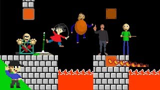 Baldi would be OP in Super Mario Bros. PART 2