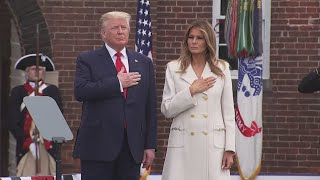 President Trump Doubles Up On Memorial Day Events