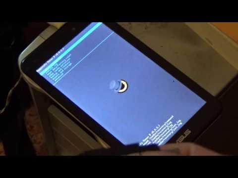 Прошивка планшета Asus K017 (ASUS MeMO Pad 7 ME170C) на Android 5.0