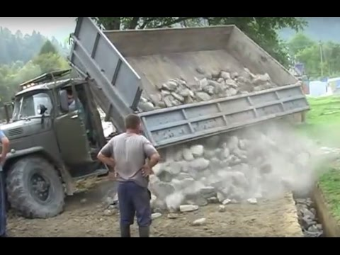 Russian Trucks In Mud Water Extreme Conditions 2016 Compilation