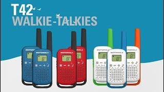 TALKABOUT T42 Walkie-Talkie Overview