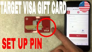 ✅  How To Set Up PIN On Target Visa Gift Card 🔴