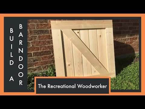 Easy to Make Barn Doors - How To (The Recreational Woodworker)