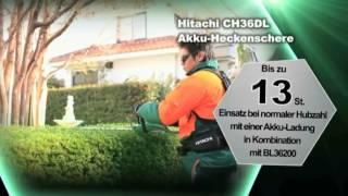 Hitachi 36 Volt Akku System - Deutschland