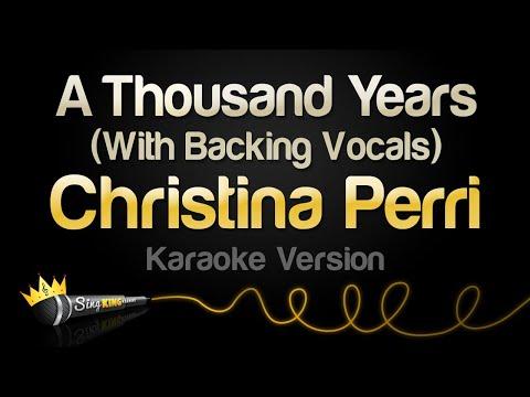Christina Perri - A Thousand Years (Valentine's Day Karaoke)