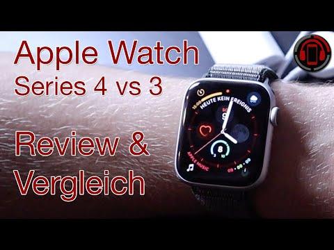 Apple Watch 4 vs 3 - Unboxing, Einrichtung & Erster Eindruck [Deutsch/German]