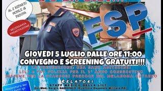 FSP – NON ANDARE IN TILT, C'E' LA LILT – Convegno e screening – Interviste 5 lug 2018
